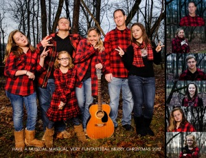 joshua clark photography did us so right on this christmas card photo shoot