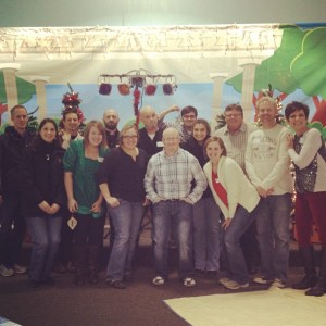 nashville area kidmin christmas gathering.